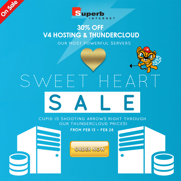 This sweet heart deal is just for you!
