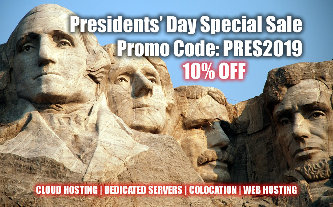 Presidents' Day Special Sale